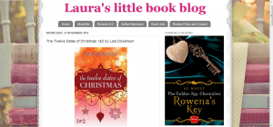 Laura's little book blog- The Twelve Dates of Christmas 1&2 by Lisa Dickenson
