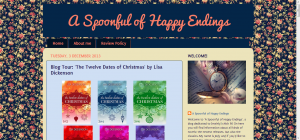A Spoonful of Happy Endings- Blog Tour- 'The Twelve Dates of Christmas' by Lisa Dickenson