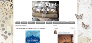 Laura's little book blog- The Twelve Dates of Christmas 3&4 by Lisa Dickenson