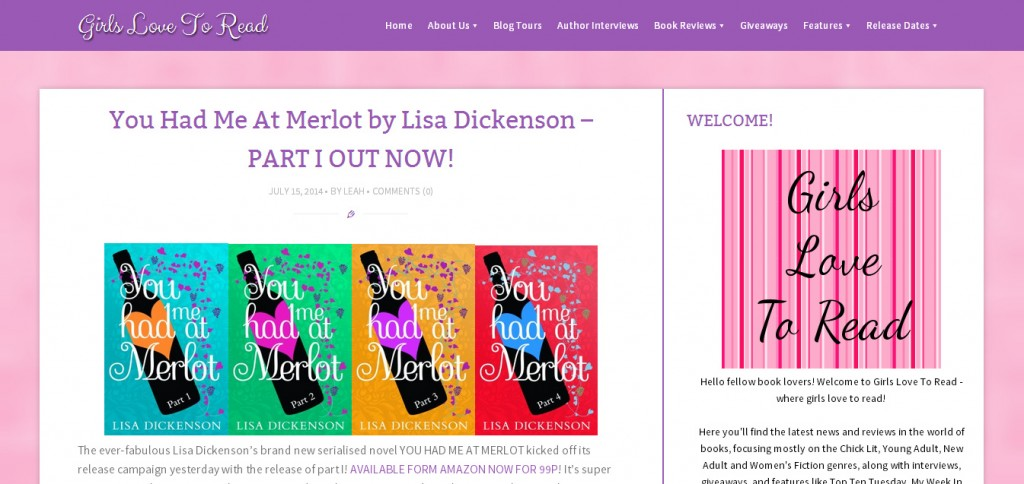 http://girlslovetoread.com/2014/07/you-had-me-at-merlot-by-lisa-dickenson-part-i-out-now/?utm_source=feedburner&utm_medium=twitter&utm_campaign=Feed%3A+GirlsLoveToRead+%28Girls+Love+To+Read%29